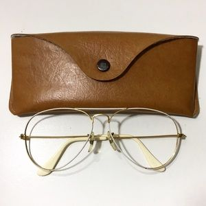 Vintage B&L Ray Ban Aviator WHITE 58mm